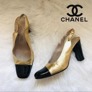 ⭕️SOLD⭕️ Rare! Authentic Vintage CHANEL Shoes